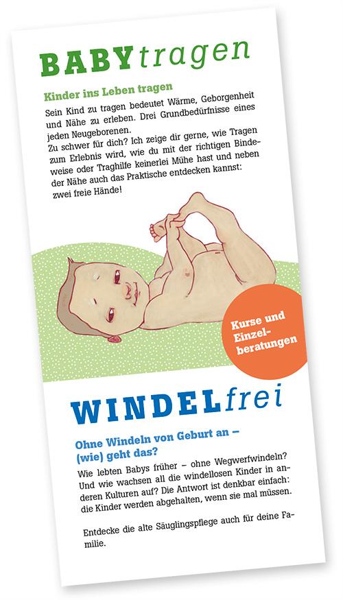 Babytragen – Windelfrei