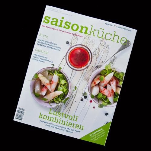 Illustrationen für die Saisonküche