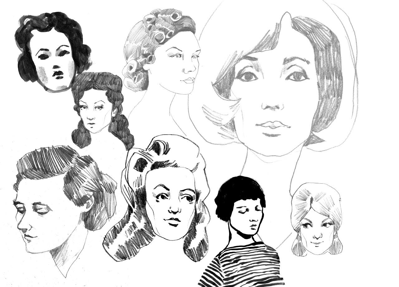 Modegeschichte 1940 – 1950
