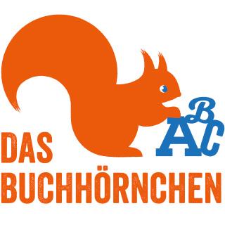 Logo Buchhörnchen für eine Leseanimatorin