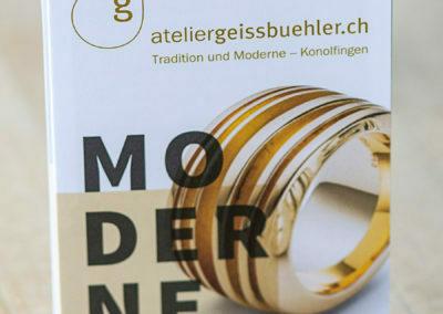 """Atelier Geissbühler: Schmuck aus Konolfingen """"Tradition und Moderne"""""""